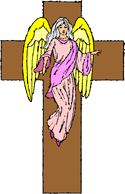 Angel and Cross PNG