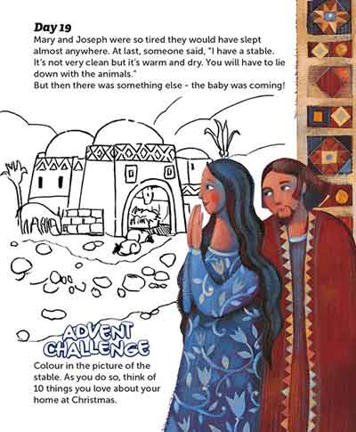 Real Advent Christmas Story 21