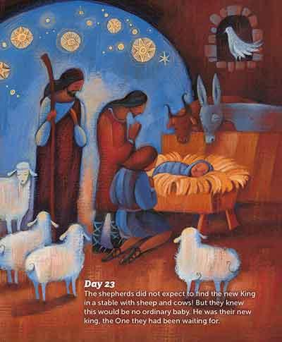 Real Advent Christmas Story 25