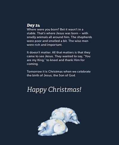 Real Advent Christmas Story 27