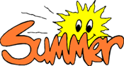 Summer and a sun PNG