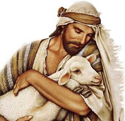 Jesus the Good Shepherd PNG