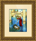 Moses framed picture PNG
