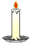 Cartoon candle PNG