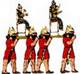 Drawing of Assyrian soldiers