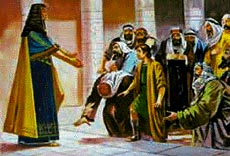 Joseph reveals himself to his brothers.