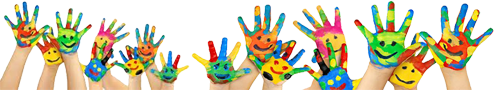 Messy hands PNG