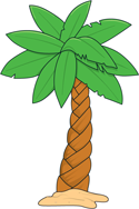 Palm tree 4 PNG
