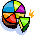 Multi coloured cake PNG