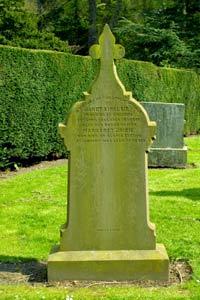 Margaret Bridie's Grave Stone