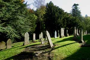 Another View Of Glamis Kirkyard