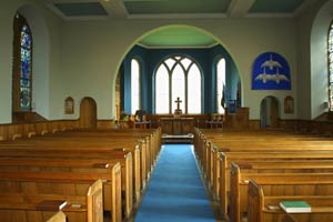 Picture Of Glamis Kirk Interior