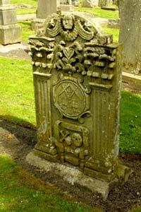 Grave Stone of a Mason