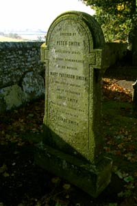 Peter Smith's Family Grave