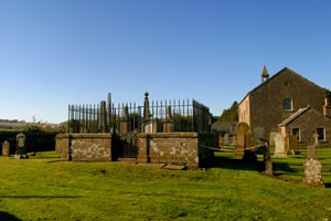 Another View Of Kinnettles Kirkyard